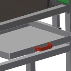 TMT 2000 Door bar assembly table Drawer Elumatec