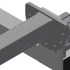 TMT 2000 Door bar assembly table Pivoting mechanism Elumatec