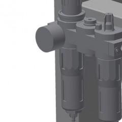 TMT 2000 Door bar assembly table Maintenance unit Elumatec
