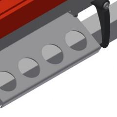 TMT 2000 Door bar assembly table Tool rack Elumatec