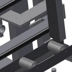 VE 3000/60 Inspection and glazing unit Pressing bar Elumatec