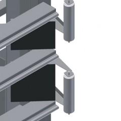 VE 4000 Inspection and glazing unit Pressing bar Elumatec