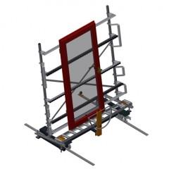 VR 2000 F - Vertical roller conveyor Vertical roller conveyor VR 2000 F Elumatec
