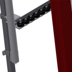 VR 2000 F - Vertical roller conveyor Lead-in rollers Elumatec