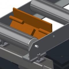 VR 2000 F - Vertical roller conveyor End stop Elumatec