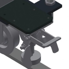 VR 2000 F - Vertical roller conveyor Mobility unit Elumatec
