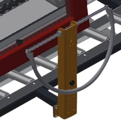 VR 2000 F - Vertical roller conveyor Grip Elumatec