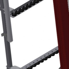 VR 2000 - Vertical roller conveyor Additional mini-roller conveyors Elumatec