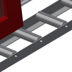 VR 2000 - Vertical roller conveyor Profile protectors Elumatec