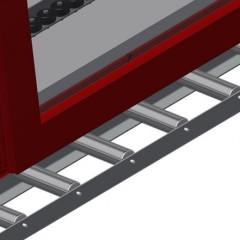 VR 2000 - Vertical roller conveyor Support rollers Elumatec