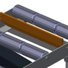 VR 2003 F - Vertical roller conveyor End stop Elumatec