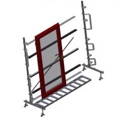 VR 2003 - Vertical roller conveyor Vertical roller conveyor VR 2003 Elumatec