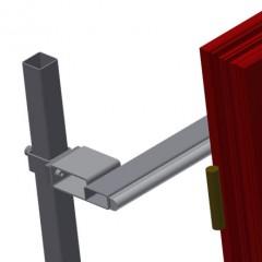 VR 2003 - Vertical roller conveyor Back support Elumatec