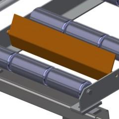 VR 2003 - Vertical roller conveyor End stop Elumatec