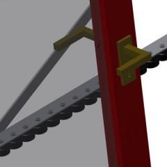 VR 2003 - Vertical roller conveyor Mini-roller conveyor Elumatec
