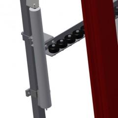 VR 2003 - Vertical roller conveyor Mini-roller conveyor height adjustment Elumatec