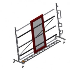 VR 3000 - Vertical roller conveyor Vertical roller conveyor VR 3000 Elumatec