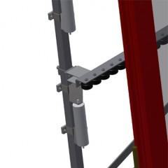 VR 3000 - Vertical roller conveyor Mini-roller conveyor height adjustment Elumatec