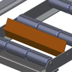 VR 3003 - Vertical roller conveyor End stop Elumatec