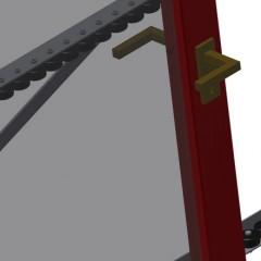 VR 3003 - Vertical roller conveyor Mini-roller conveyor Elumatec