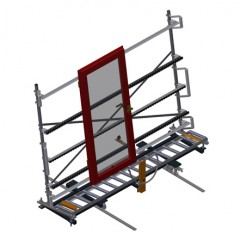 VR 4000 F - Vertical roller conveyor Vertical roller conveyor VR 4000 F Elumatec