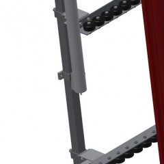 VR 4003 - Vertical roller conveyor Additional mini-roller conveyors Elumatec