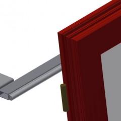 VR 4003 - Vertical roller conveyor Back support Elumatec