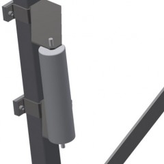 VR 4003 - Vertical roller conveyor Lead-in rollers Elumatec
