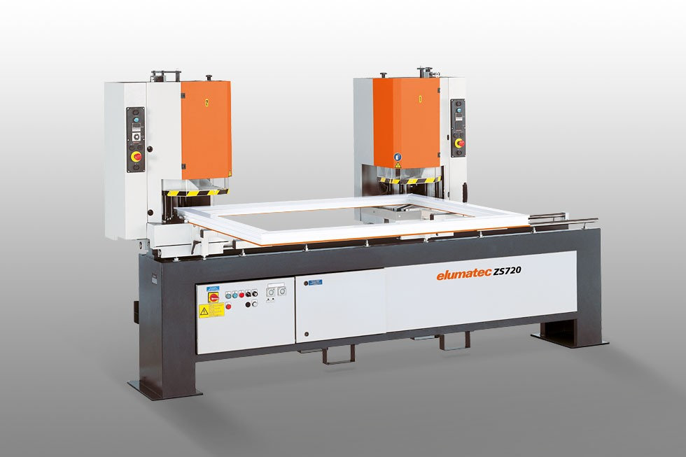 ZS 720 - 2-head welding machine Elumatec