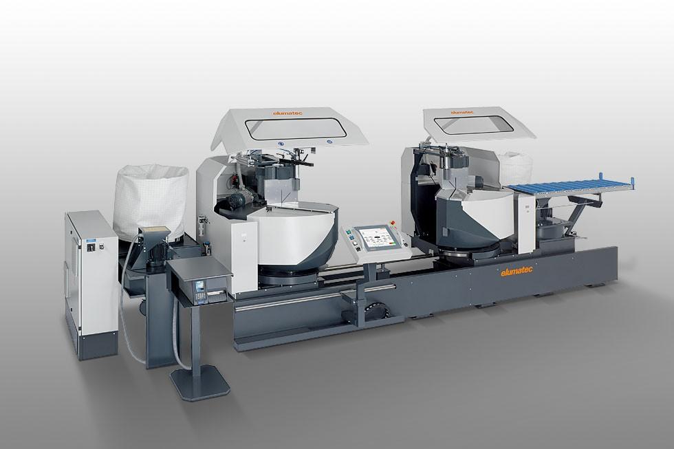 DG 244 - Máquina de corte de duas cabeças angulares Elumatec