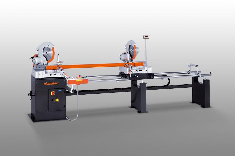DG 79 - Máquina de corte de duas cabeças angulares Elumatec