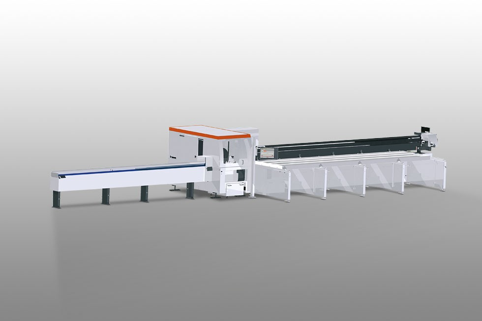 SAP 629 - Automatic saw with pusher Elumatec