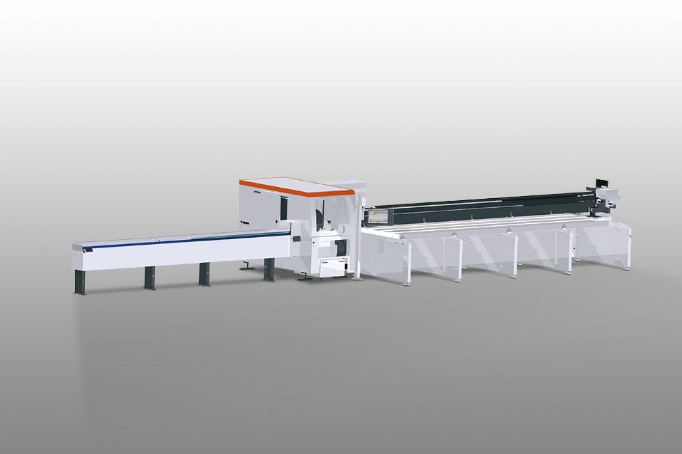 SAP 629 Troncatrice automatica con spintore Elumatec