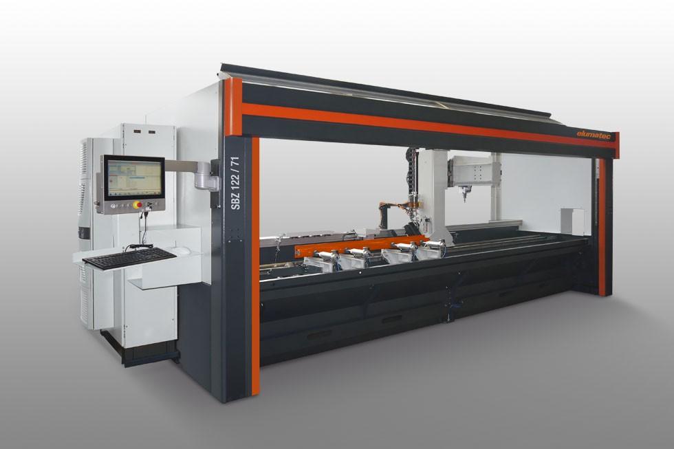 SBZ 122/71 - Profile machining centre Elumatec