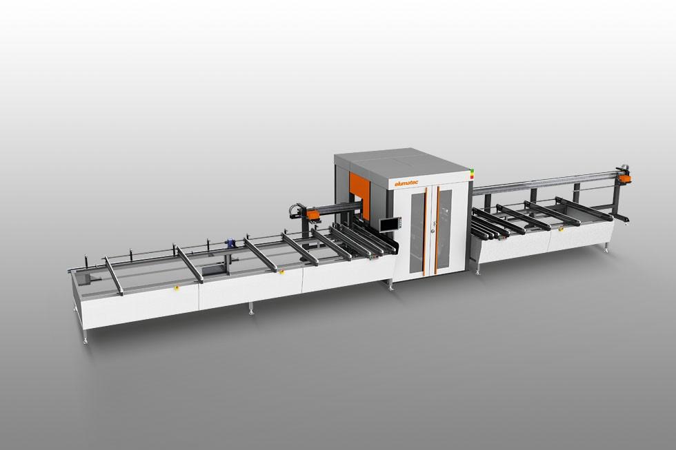 SBZ 618 - Centre d'usinage de barres Elumatec