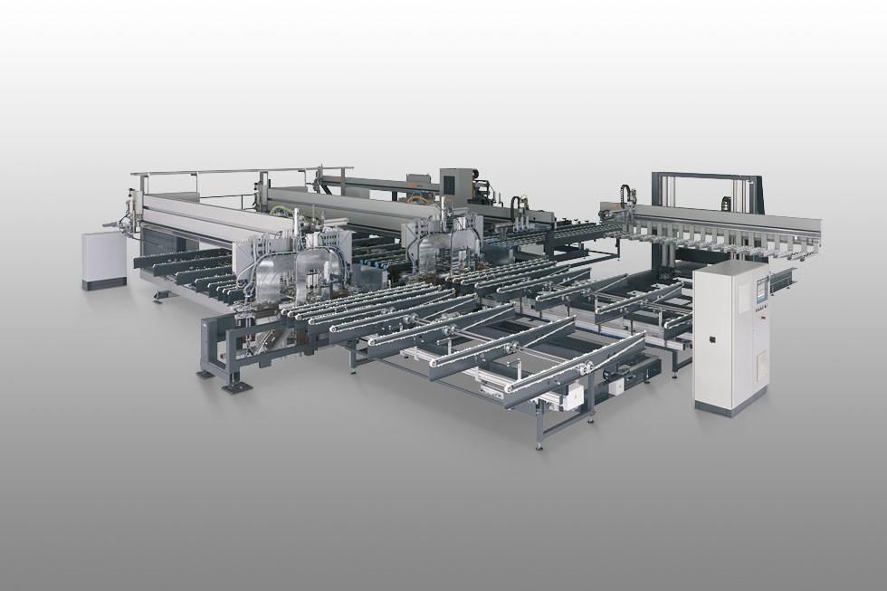 SBZ 620 - Profile machining centre Elumatec