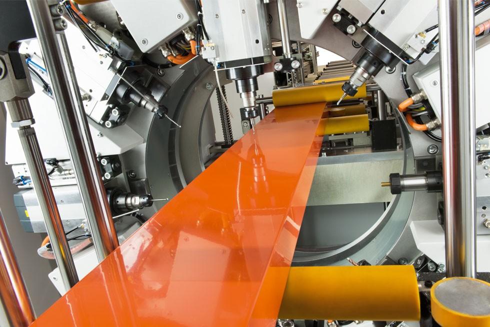 SBZ 628 - Profielbewerkingscentrum Bearbeitungsstation/machining station (2015) Elumatec