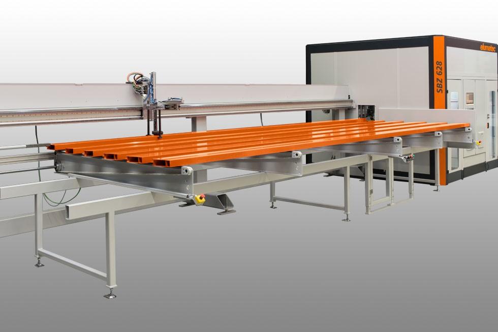 SBZ 628 - обрабатывающий центр загрузка/loading (2015) Elumatec