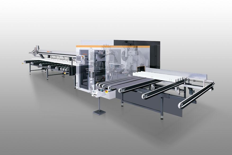SBZ 630 - Centre d'usinage de barres Elumatec