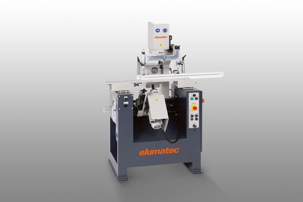 WSF 74 - Automat frezarskie do wykonywania rowków do odwodnień Elumatec
